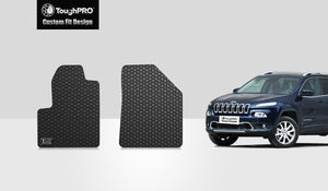 JEEP Cherokee 2015 Two Front Mats