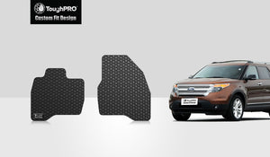 FORD Explorer 2017 Two Front Mats