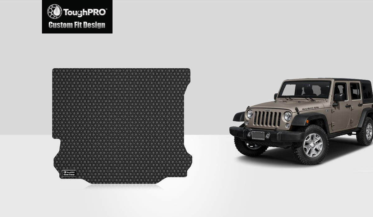 JEEP Wrangler Unlimited 2014 Cargo Mat 4 Door