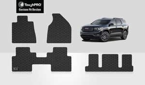 GMC Acadia 2016 Front Row  2nd Row  3rd Row 2nd Row  BUCKET SEATING