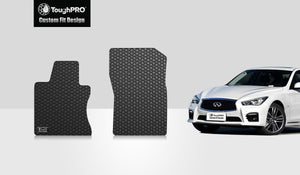 INFINITI Q50 2016 Two Front Mats