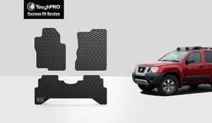 NISSAN Xterra 2014 1st & 2nd Row