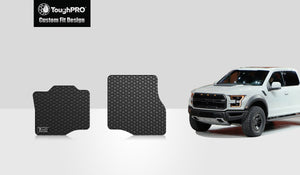 FORD F150 2016 Two Front Mats Crew Cab