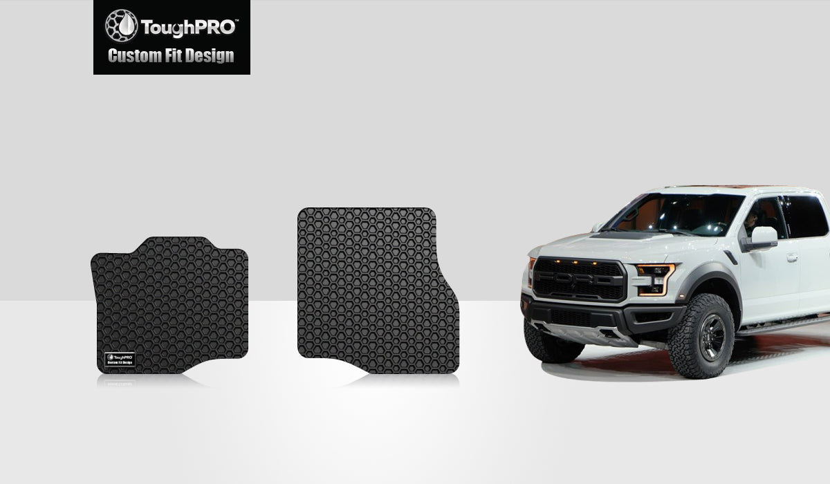 FORD F150 2018 Two Front Mats Crew Cab