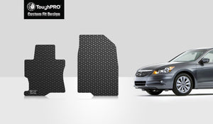 HONDA Accord 2009 Two Front Mats