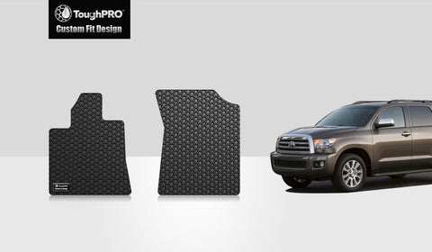 TOYOTA Sequoia 2013 Two Front Mats
