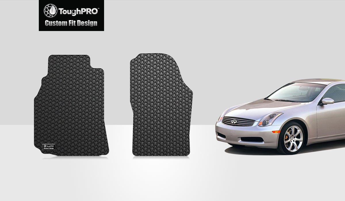 INFINITI G35 2003 Two Front Mats Coupe Model