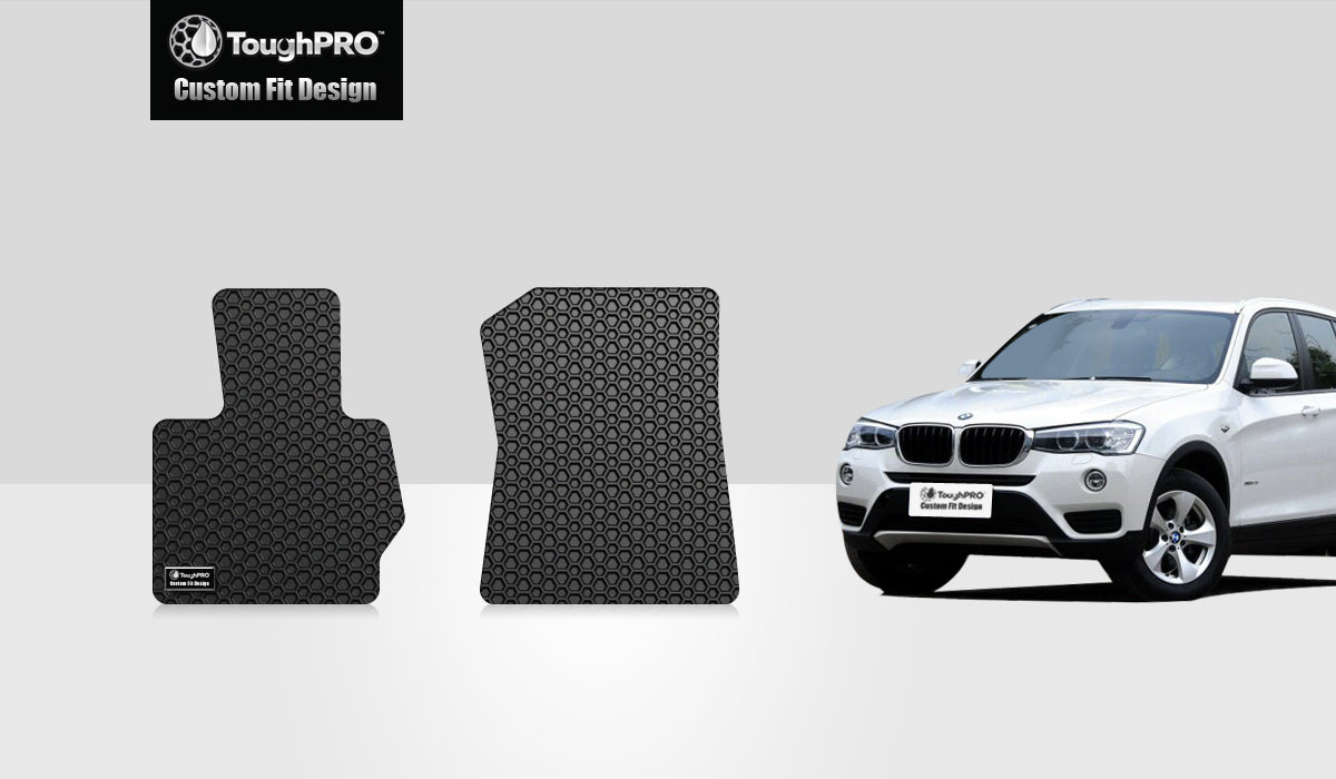BMW X3 2014 Two Front Mats