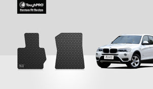 BMW X3 2011 Two Front Mats