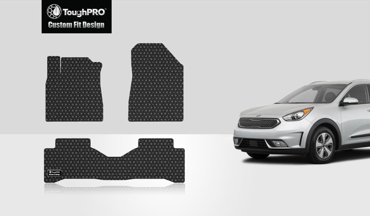 KIA Niro 2017 1st & 2nd Row Mat Sets