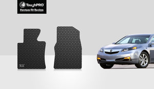 ACURA TL 2009 Two Front Mats