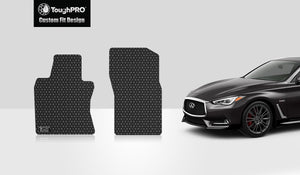 INFINITI Q60 2017 Two Front Mats