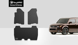 HONDA Element 2007 Floor Mats Set EX,LX,DX Models