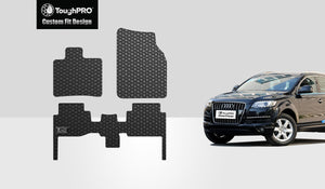 AUDI Q7 2012 1st & 2nd Row