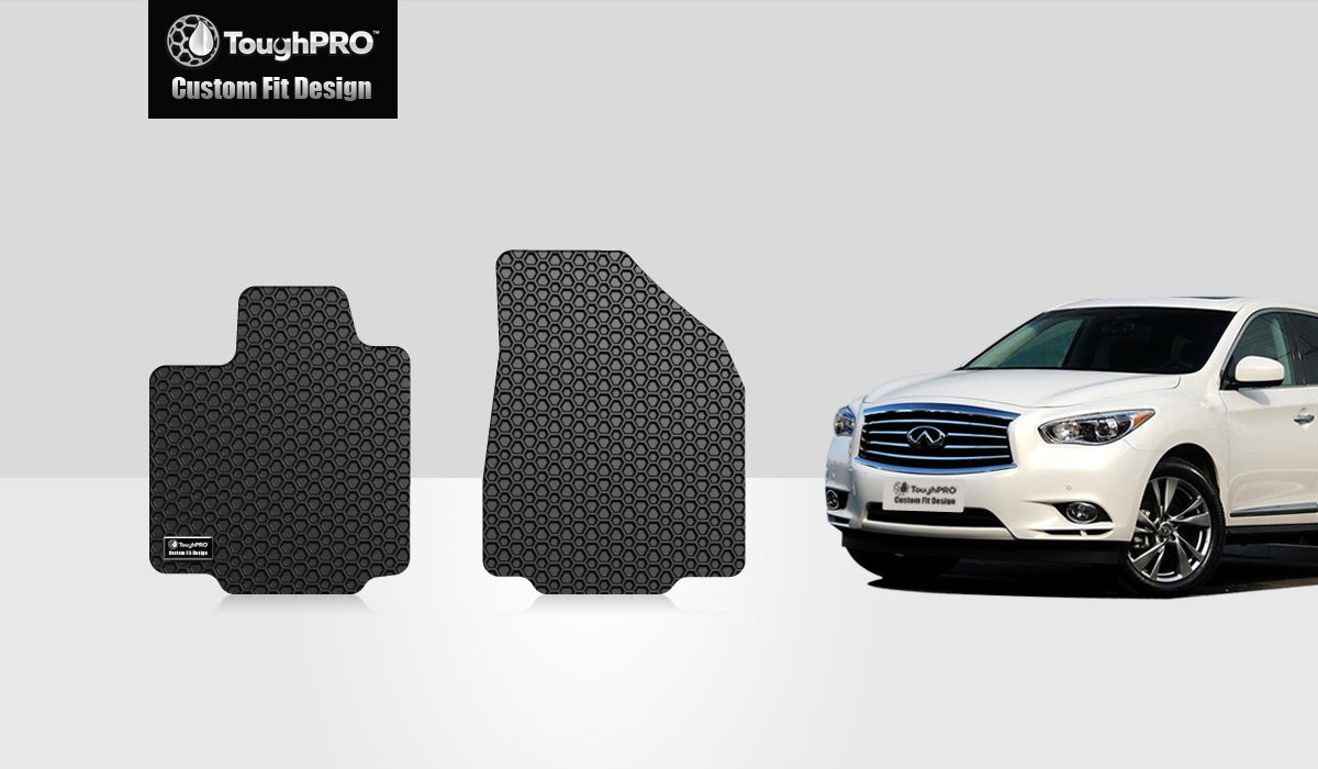 INFINITI JX35 2013 Two Front Mats