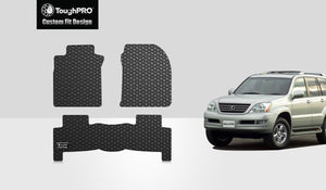 LEXUS GX470 2008 Floor Mats Set