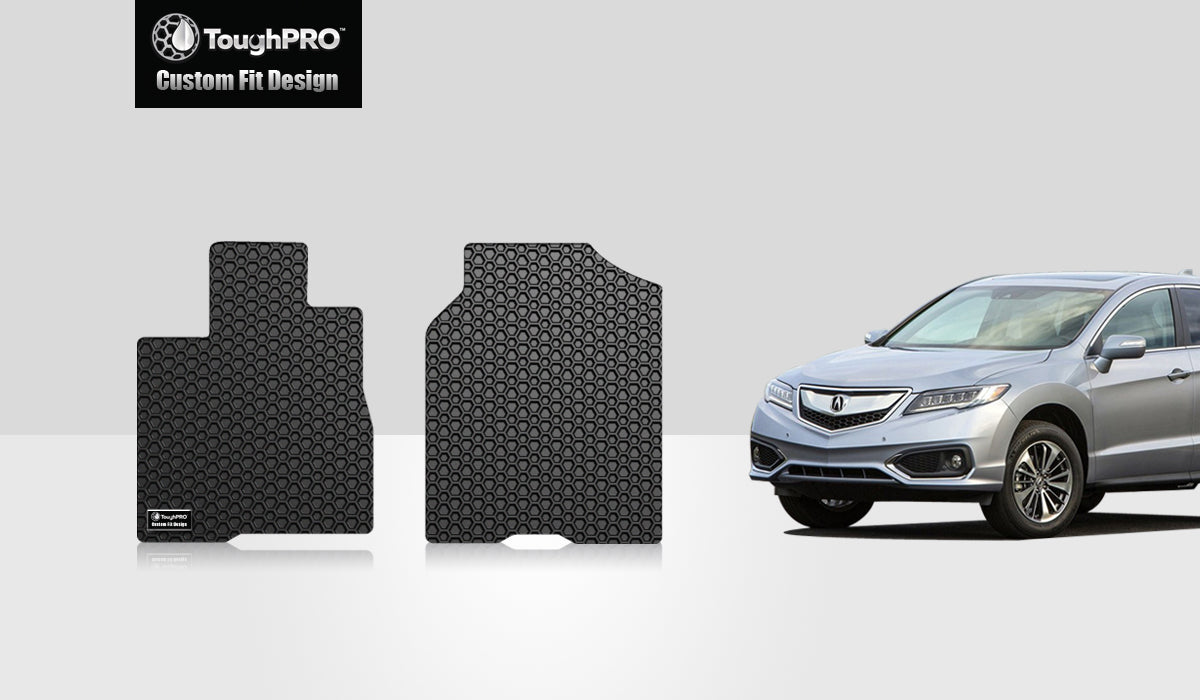 ACURA RDX 2013 Two Front Mats vehicle's PASSENGER (front) seat  with  8 way power movement