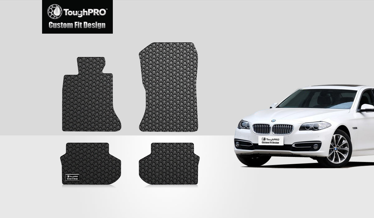 BMW 520i 2014 Floor Mats Set Rear Wheel Drive