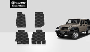 JEEP Wrangler Unlimited 2016 Floor Mats Set 4 Door