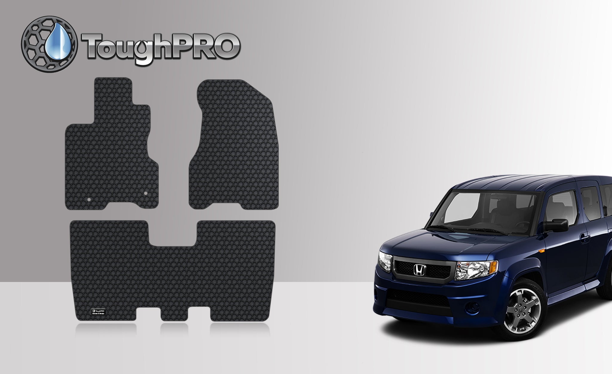 HONDA Element 2008 Floor Mats Set SC Model