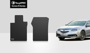 ACURA TLX 2017 Two Front Mats