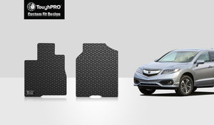 ACURA RDX 2013 Two Front Mats vehicle's PASSENGER (front) seat  with  4 way power movement