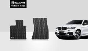 BMW X6 2016 Two Front Mats