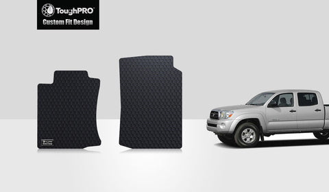 TOYOTA Tacoma 2015 Two Front Mats Double Cab