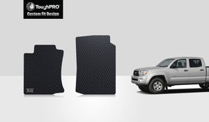 TOYOTA Tacoma 2013 Two Front Mats Double Cab