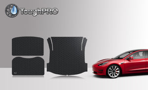TESLA Model 3 2018 Frunk Mat Trunk Mat  Storage Mat