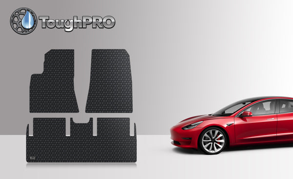 TESLA Model 3 March 2019 to August 2019 1st & 2nd Row