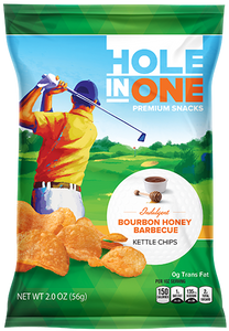 Bourbon Honey Barbecue Kettle Chips – Case Pack