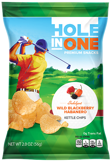 Wild Blackberry Habanero Kettle Chips – Case Pack