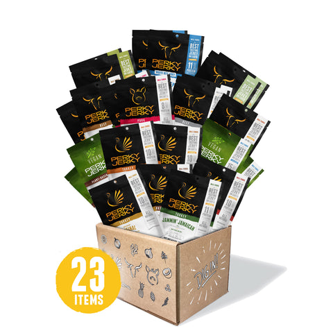 50% Off Assorted 23 Count Jerky Bulk Box
