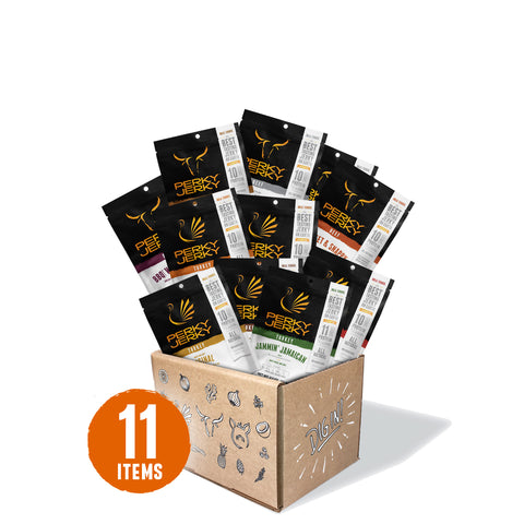 40% off 11 Count Beef Jerky and Turkey Jerky Bulk Box