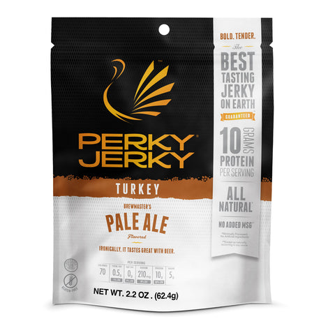 Perky Jerky Brewmaster Pale Ale Turkey 2.2oz 12 pack