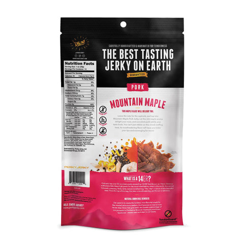 Perky Jerky Mountain Maple Pork Jerky 14 oz bag
