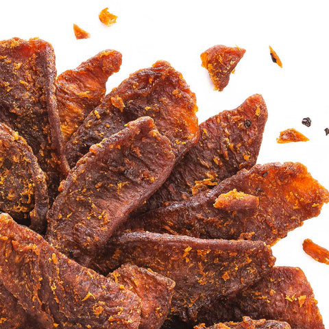 Perky Jerky Sea Salt and Pepper Vegan Jerky 8 Pack