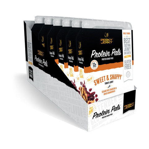 50% OFF! Sweet and Snappy Turkey Protein Pal Snack Pack 6 Pack