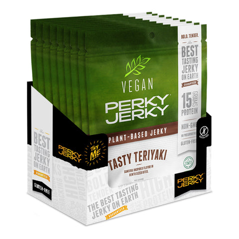 NEW Tasty Teriyaki Vegan Jerky