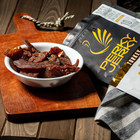 Perky Jerky More Than Just Original Turkey 14oz Bag