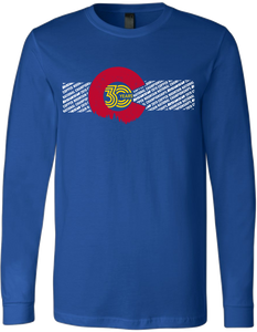 2019 Nationals Colorado Flag T-Shirt