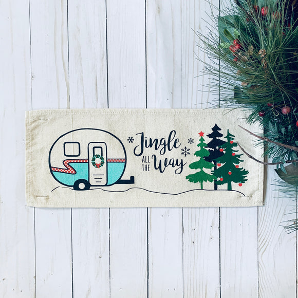 Holiday Panel: Vintage Camper Christmas
