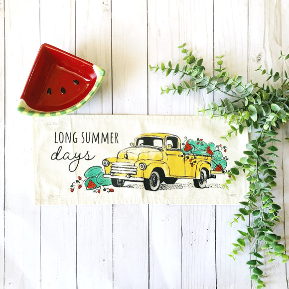 Seasonal Panel: Summer Watermelon Truck