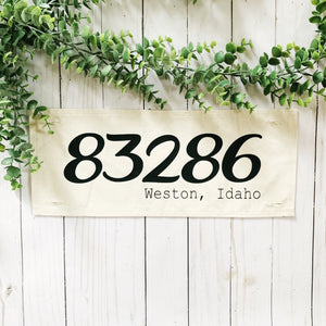 Custom Panel: Zip code/City and State