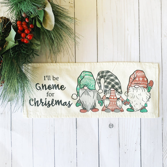 Holiday Panel:  Gnomes