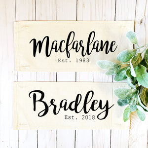 Custom Panel: Wedding/Anniversary {Leave the Name/Year in NOTES}