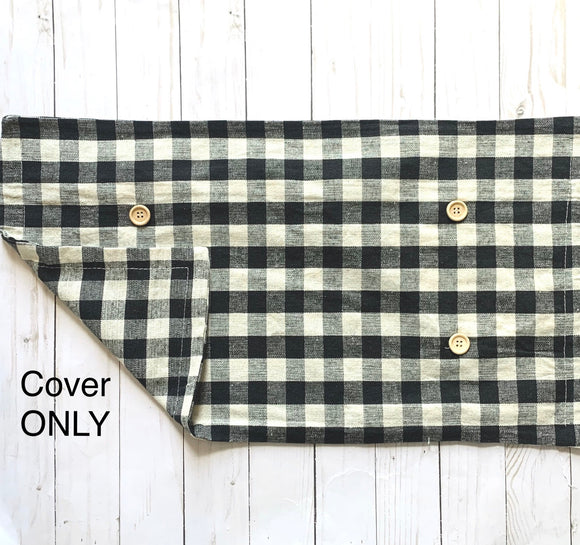 COVER ONLY: Buffalo check (no insert)
