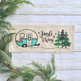 Winter/Christmas Holiday Bundle: includes Tree Truck, Cmas Camper, Nativity, Cmas trees