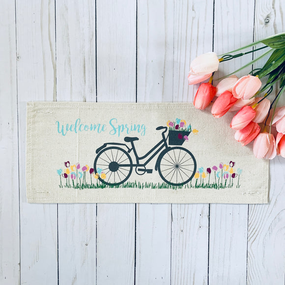 Seasonal Panel: Spring Bike